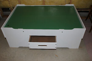 Brand new Melissa & Doug Deluxe wooden play table for sale!!!!!!