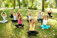 YOGA IN CONFEDERATION PARK AND NORTH GLENMORE PARK!