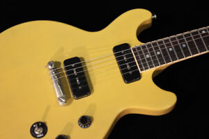 2015 Gibson Les Paul Special Double Cut TransYellow