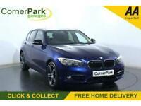 2016 BMW 1 Series 1.5 118I SPORT 5d 134 BHP Hatchback Petrol Manual