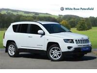 2013 Jeep Compass 2.4 Limited CVT Petrol Petrol white Automatic