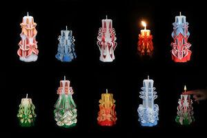 Equipement complet pour faire des bougies sculptees