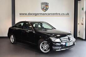 2013 63 MERCEDES-BENZ C CLASS 2.1 C220 CDI BLUEEFFICIENCY AMG SPORT 4DR 168 BHP