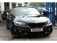 2018 18 BMW 2 SERIES 1.5 218I M SPORT 2D 134 BHP