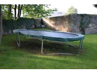 Jumpking 15 ft Oval Trampoline for sale - buyer takes away - Morningside area