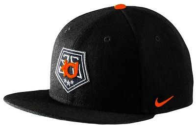 3011ca3f116c2 MENS HAT NIKE TRUE KEVIN DURANT STAR BILL SNAPBACK CAP BLACK ORANGE NEW