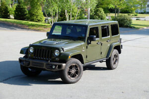 2016 Jeep Wrangler Unlimited 75th Anniversary - Low Mileage
