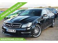 2013 (63) MERCEDES-BENZ C CLASS 6.2 C63 AMG 457BHP 2 OWNERS + FULL MERC HISTORY
