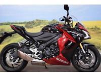Suzuki GSX-S1000F **Brembo Brakes, ABS, Renthal Bars**