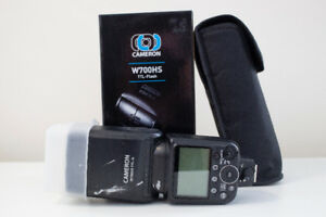 Flash for Nikon, Cameron w700hs TTL Flash