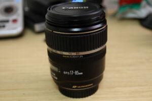CANON 17-85 mm Lens: $ 199.00