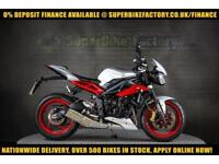 2015 15 TRIUMPH STREET TRIPLE 675 RX 675CC 0% DEPOSIT FINANCE AVAILABLE
