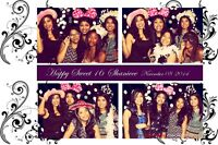 Photo Booth for your Sweet 16 Birthday Party August Special $230