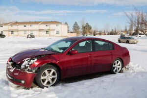 For Parts: Nissan Maxima 04