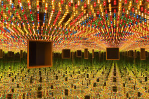 AGO - YAYOI KUSAMA INFINITY MIRRORS EXHIBITION FOR CHEAP!