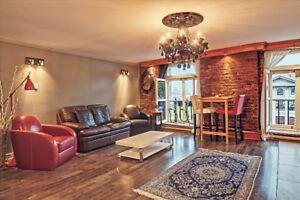 Spacious and charming 1 bedroom in the heart of Old-Montreal