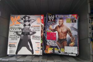 WWE Wrestling Magazines