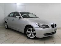 2008 08 BMW 5 SERIES 2.0 520D SE 4DR 175 BHP DIESEL