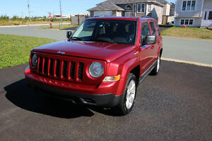 2011 Deep Cherry Red Jeep Patriot North Edition 4x4