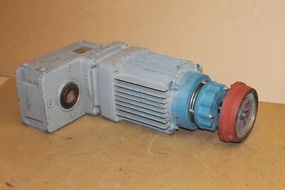 "Gearmotor, Offset 59rpm 275 ftlb 1 3/8"" Hollow shaft AUH30DD-ZBA90A4 Demag Crane"