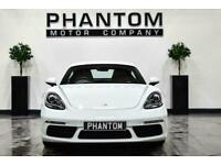 2017 Porsche 718 CAYMAN 2.5T S (s/s) 2dr Coupe Petrol Manual