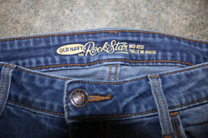 Old Navy Rockstar Jeans size 6,  $10 for both