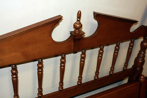 Perfect Krug Poster Walnut Poster Double Bed Frame SEE VIDEO