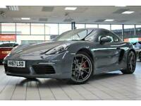 2017 Porsche 718 2.5 CAYMAN S PDK 2d 345 BHP Coupe Petrol Semi Automatic