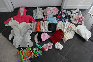 0-3 Month Girl Clothing LOT (BabyGap, Old Navy, Mexx, OshKosh..) Cambridge Kitchener Area image 1