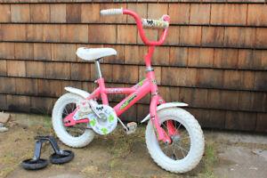 Vélo fille Akiko 12 po (3-6 ans)