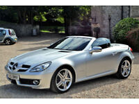Mercedes-Benz SLK200 Kompressor 1.8 auto 25K MILES, FULL S/HIST, £7K EXTRAS