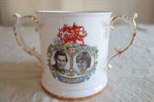 LADY DI/PRINCE CHARLES COMMEMORATIVE MUG-1981 MARRIAGE