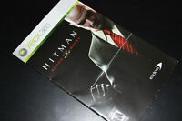 XBOX 360-HITMAN-BLOOD MONEY-MANUAL ONLY (COMPLETE YOUR GAME)