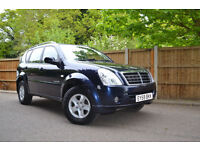 2009 Ssangyong Rexton 2.7TD 4X4 Auto S 1 Owner £154 A Month £0 Deposit