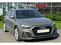 2019 Audi A1 1.0 TFSI 30 S line Sportback (s/s) 5dr Hatchback Petrol Manual