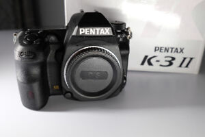Pentax K3 II + Battery grip D-BG5