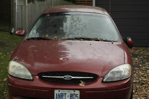 2000 RED FORD TAURUS $500 OBO
