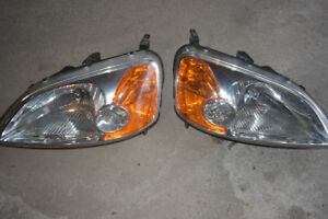 2003 Civic Coup Headlights