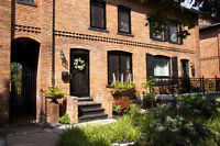 Beautiful Walkerville Brownstone Row House