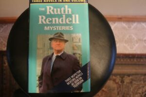- The Ruth Rendell Mysteries - 3 Novels in one - (Hardcover) -
