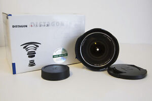Zeiss 18mm Lens for Canon