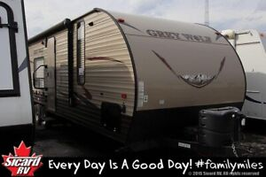 2016 FOREST RIVER GREY WOLF 26RR