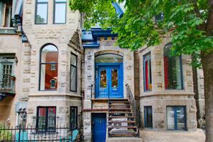 Wonderful apartment - 2 bedrooms - Plateau Mont-Royal