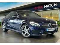 2017 Mercedes-Benz C Class C 200 AMG LINE PREMIUM AUTO Coupe Petrol Automatic