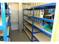 4 bays of 1.78metre high x 600mm industrial racking