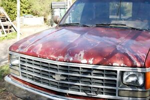 1990 Chevy Cheyenne 2500 5.7L V8 Automatic 4x4 for parts