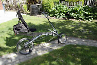 Recumbent BikeE AT Rear Suspension and Accessories