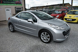 Peugeot 207 CC 1.6HDI DIESEL SPORT COUPE CONVERTIBLE 2008 MODEL