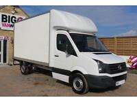 2015 VOLKSWAGEN CRAFTER CR35 TDI 109 LUTON WITH TAIL LIFT LUTON DIESEL