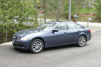 2009 Infiniti G37x  Sedan with Navigation & Remote Starter